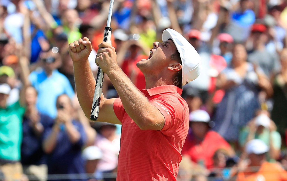 It's @playofffinale week AND our #theMemorial winner @b_dechambeau's birthday week! What could be better than a #FedExCup win to celebrate? We're rooting for you, Bryson!