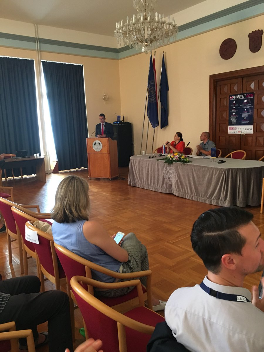 SPONSORS' BLOCK: Pavel Synek (Regional Sales Manager) @EBSCO