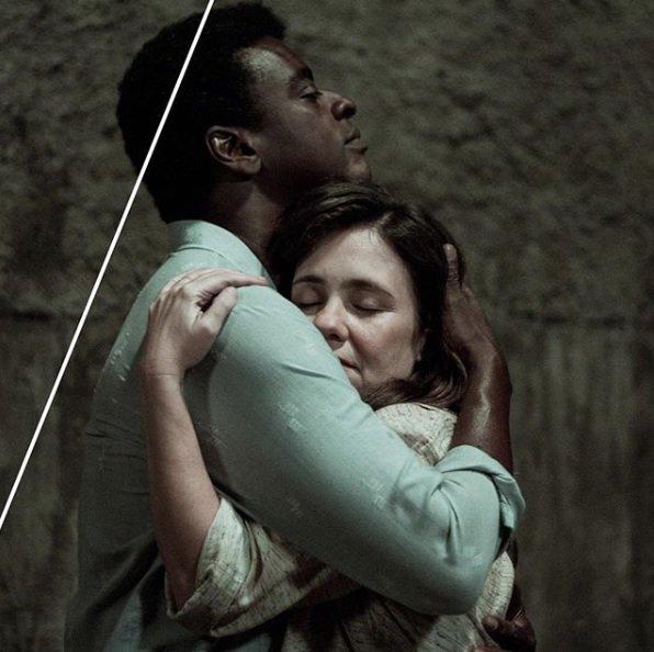 Marighella, o filme: amor em tempos de guerrilha (Adriana Esteves e @soujorge). (Foto: Ariela Bueno ) Marighella, o livro (@cialetras): Foto
