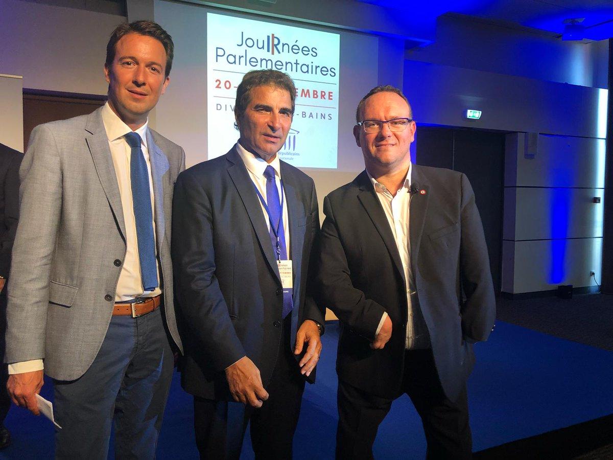 Journées parlementaires @Republicains_An à Divonne-les-Bains en compagnie de Christian Jacob et @damienabad  - FestivalFocus