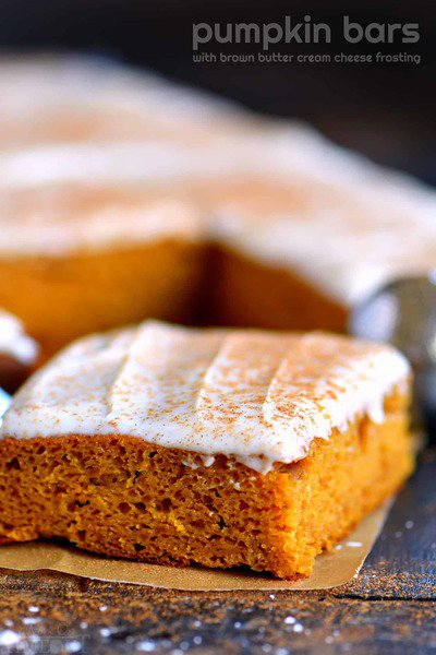 @cheeslyco: The BEST Pumpkin Bars with Brown Butter Cream Cheese Frosting https://t.co/LwMpqh7neF https://t.co/8idFX0lQ89