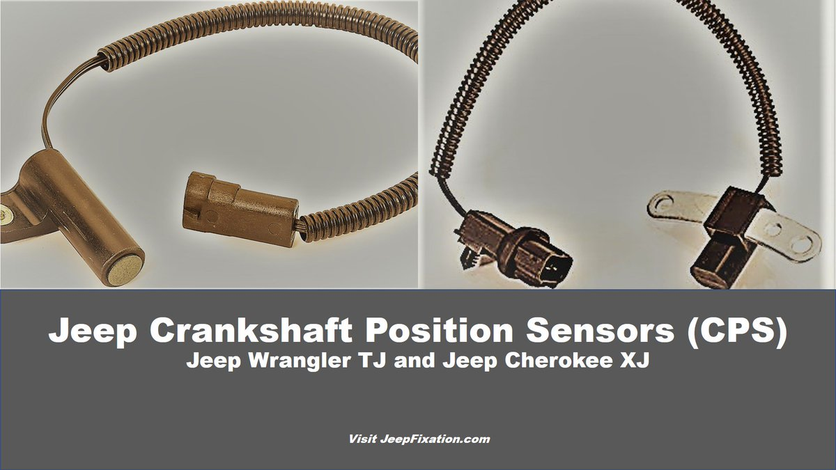 Jeepdiy Photos And Hastag Jeep Crank Position Sensor Fixation How To Change The Crankshaft Cps