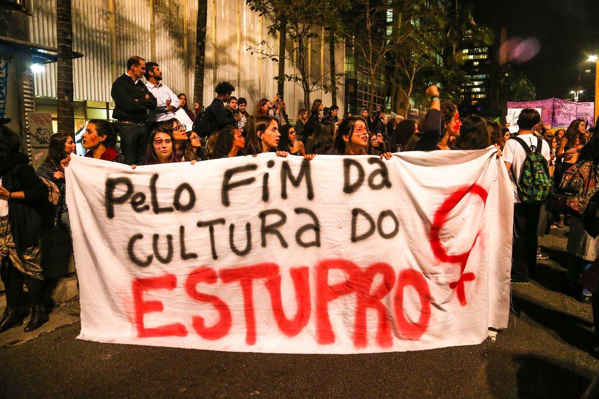 Nana Soares: 'Podem castrar quantos homens quiserem, dificilmente deixaremos de registrar um estupro a cada 9 minutos nesse país.' https://t.co/3t8yDY259n