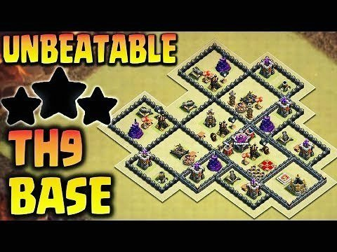 Unbeatable Th9 War Base 2
