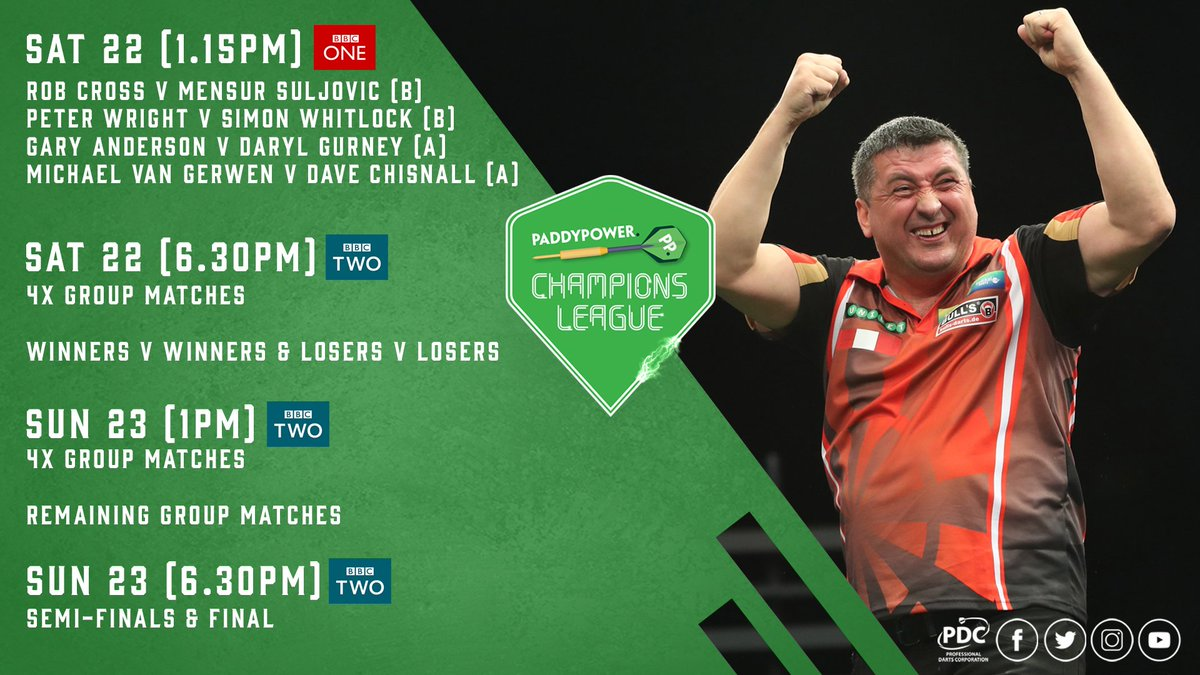 PDC Darts on Twitter: