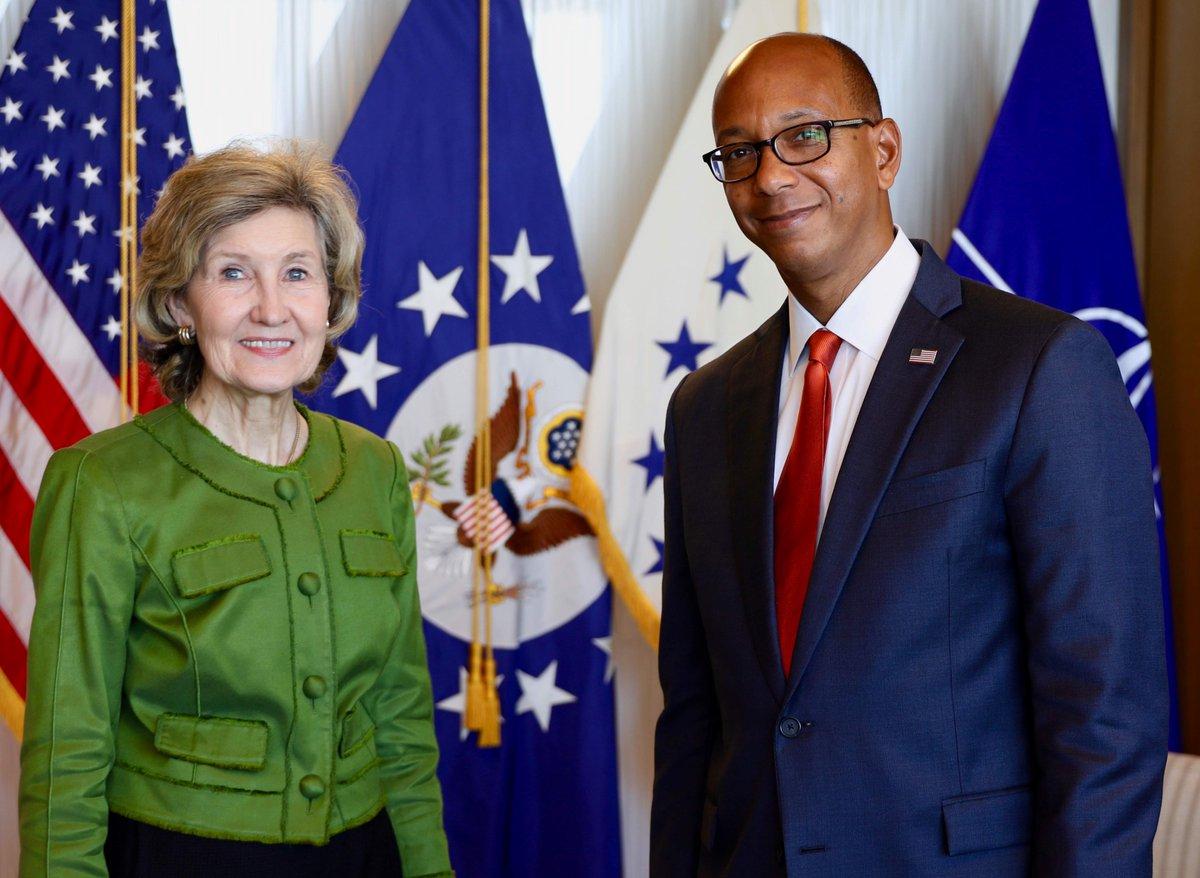 .@USAmbCD Robert Wood est à #Bruxelles pour présenter aux Alliés de l\