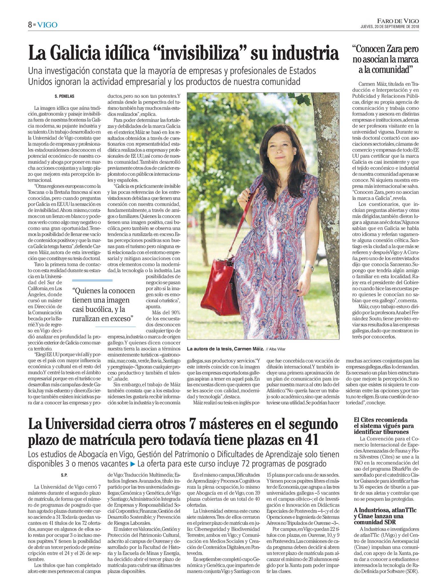 Sandra Penelas On Twitter La Galicia Idílica Invisibiliza
