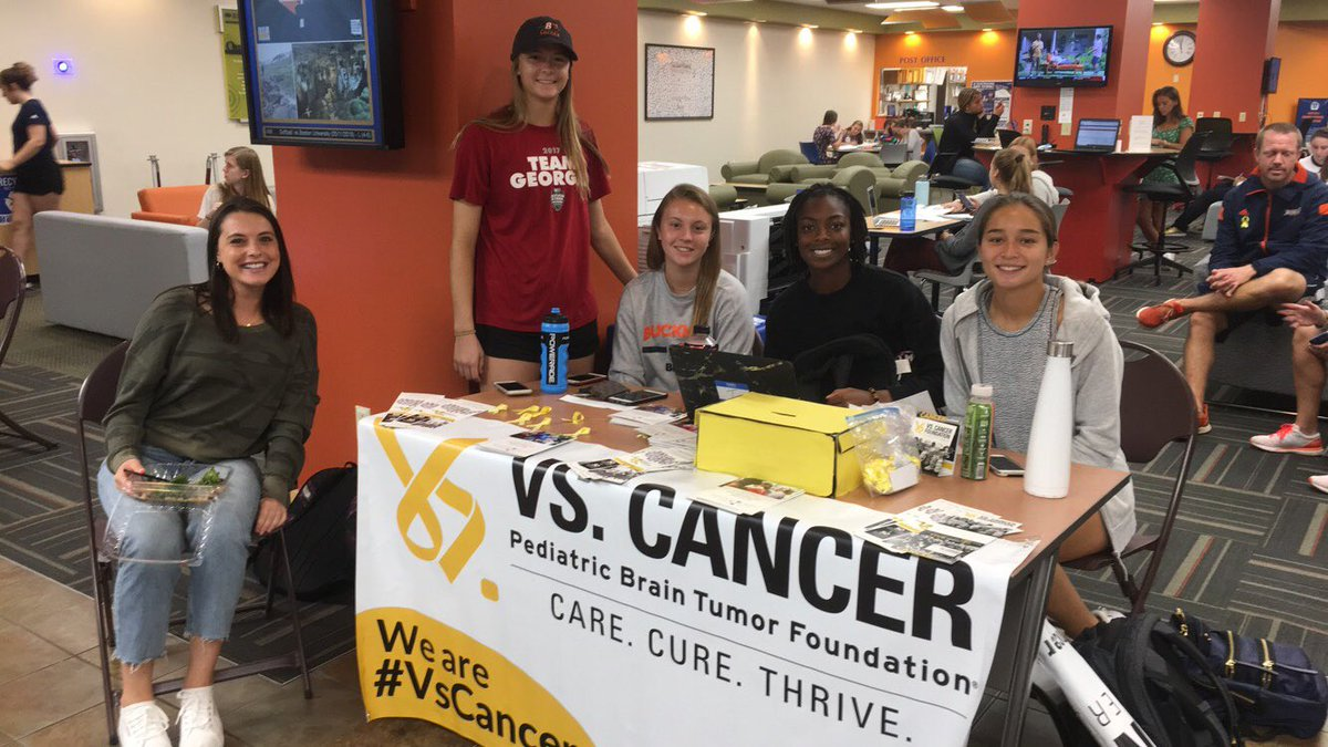 We'll be in the ELC again this week for the next hour! Stop by to #jointhefight against pediatric cancer. @Vs_Cancer<br>http://pic.twitter.com/HPDOPsWtH0