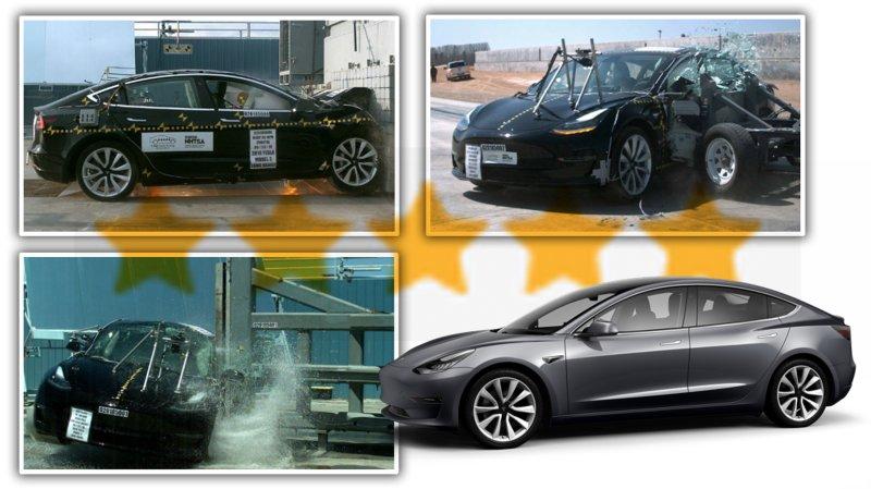 Tesla Model 3 gets five-star crash safety rating from NHTSA https://t.co/Fs1rjlcrcA