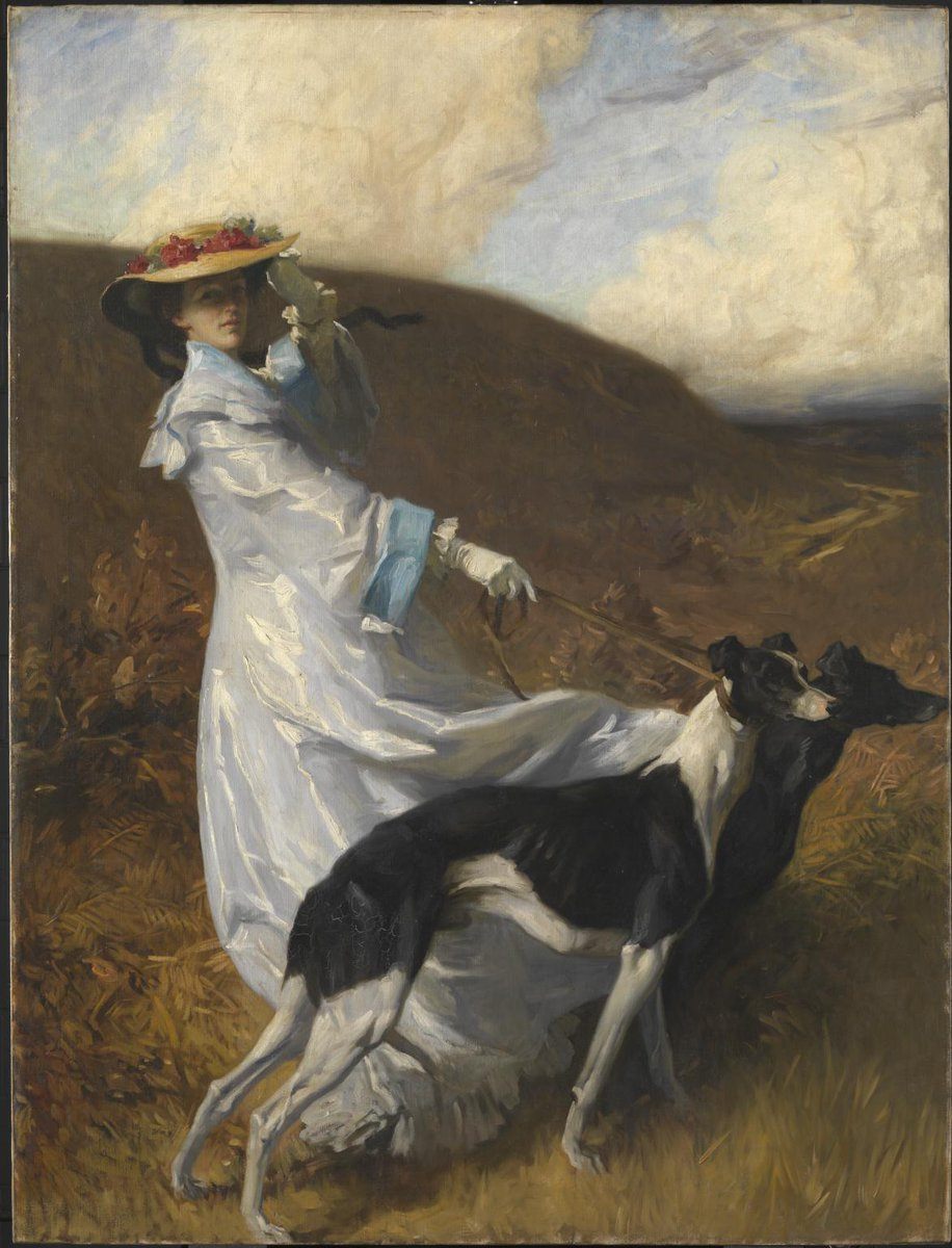 #TateWeather predicts a windy few days. Hold on to your hats! Charles Wellington Furse, Diana of the Uplands 1903–4, on free display at Tate Britain https://t.co/DHTWwLEotG