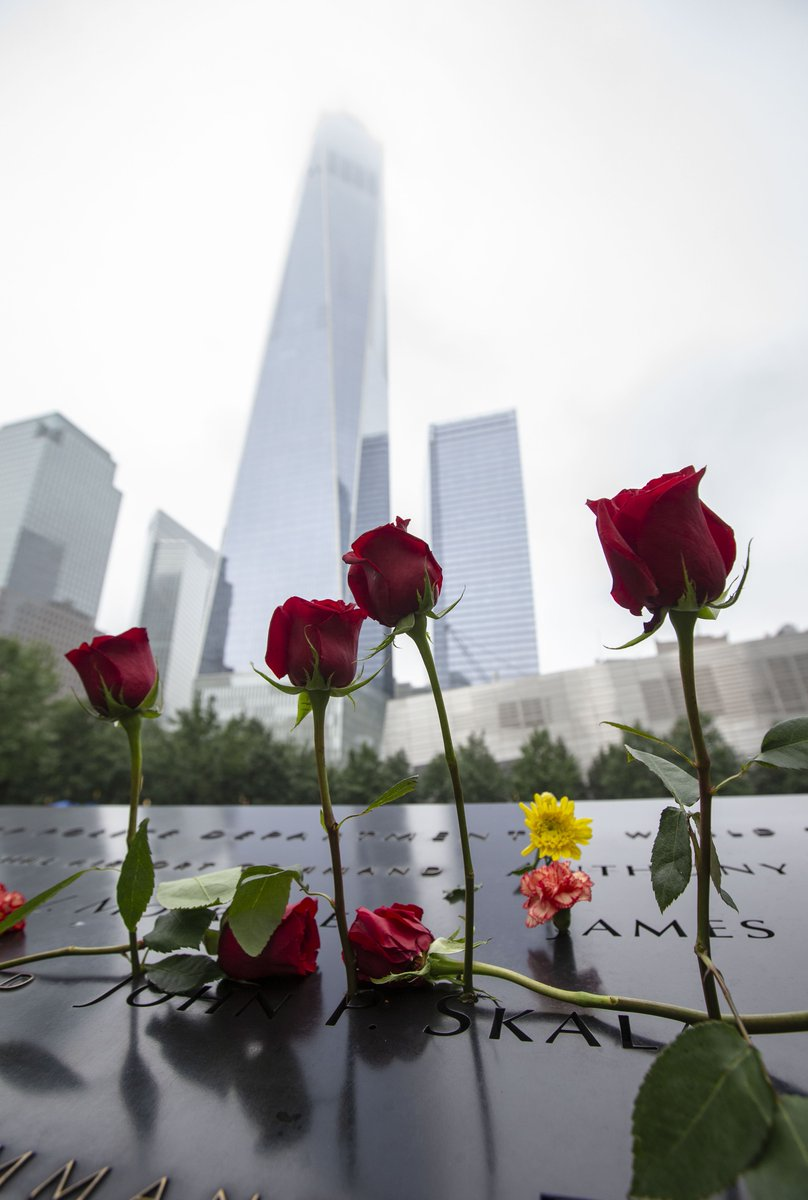 We will never forget. #911Memorial #911Museum #NeverForget #Honor911