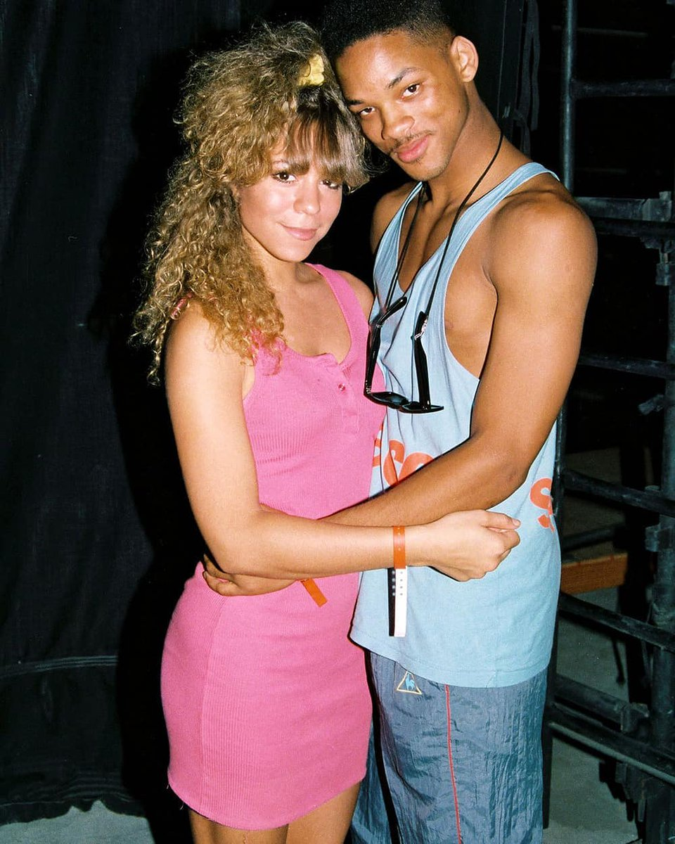 Now this is a #tbt 🔥🔥 @MariahCarey #WillSmith