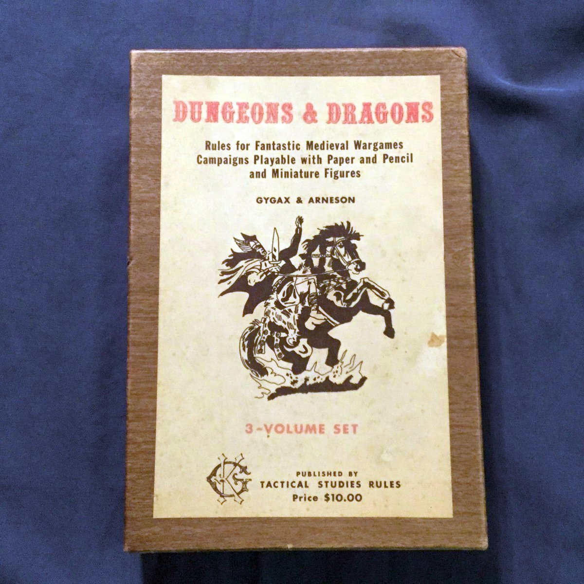 Image result for Original D&D woodgrain box