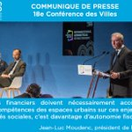 #ConfVilles #CommuniquéPresse    Conférence des Villes : l'urgence sociale ne nous permet plus d'attendre ! > https://t.co/JSRSWEisMB