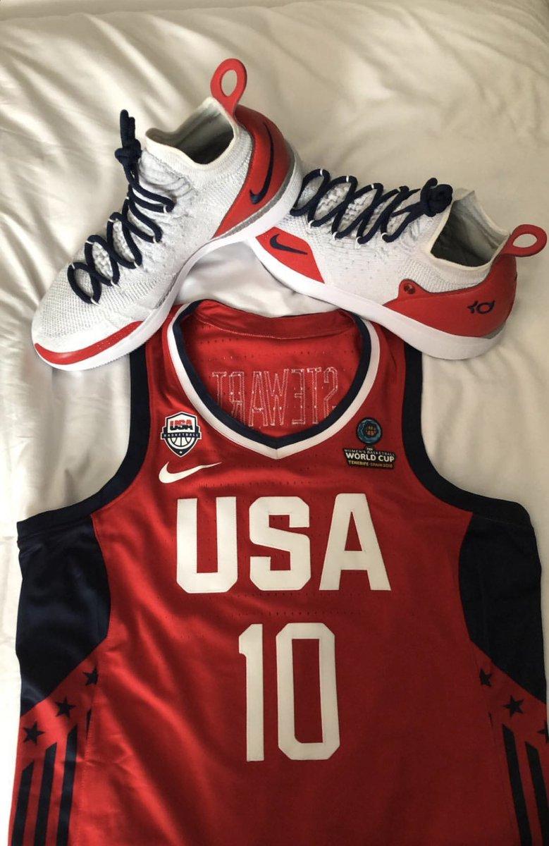 Team USA Nike KD 11 for @breannastewart  <br>http://pic.twitter.com/OsSrIHKTTT