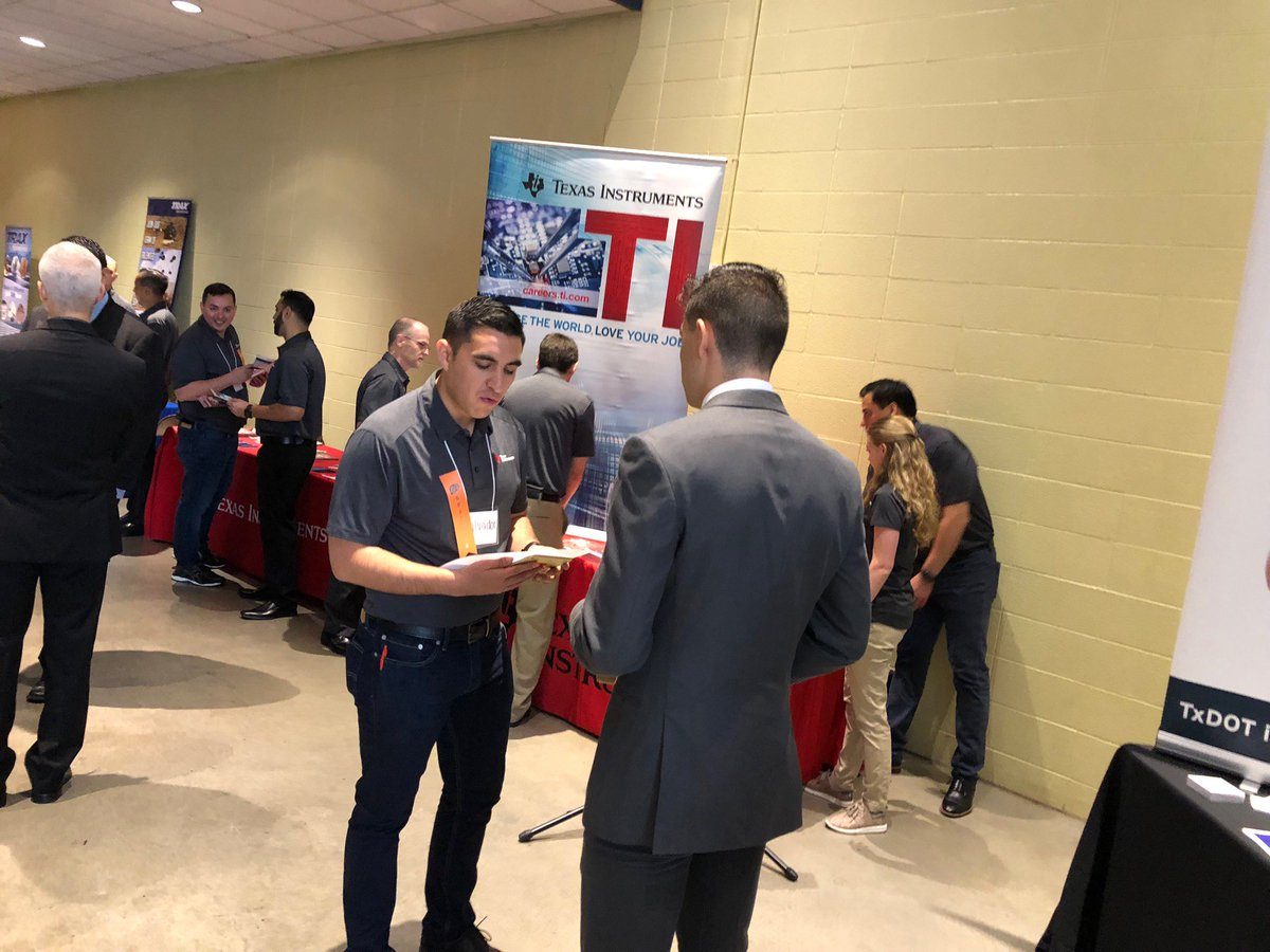 It's career expo day! We'll be at @EngineeringUTEP from 9-2 p.m. at the Don Haskins Center. Bring resumes! #TIcareers https://t.co/WrYkSnOq3j