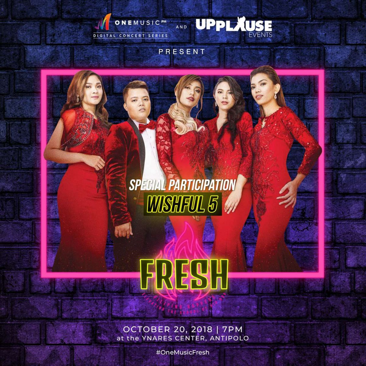 NEW GUEST ALERT! Catch a special participation by The Wishfuls this October 20 for #OneMusicFRESH! May tickets ka na ba? Get them over at bit.ly/KTXOneMusicFRE… or bit.ly/SMOneMusicFRESH