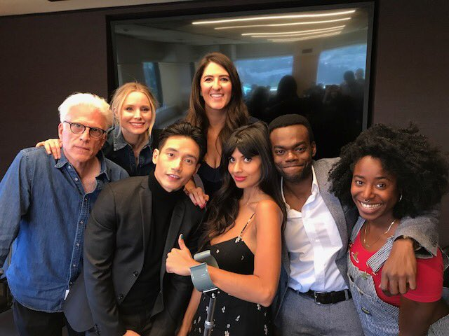 One week away from the season 3 premiere of Gossip Girl. Sep 27th on nbc. ❤️ #thegoodplace https://t