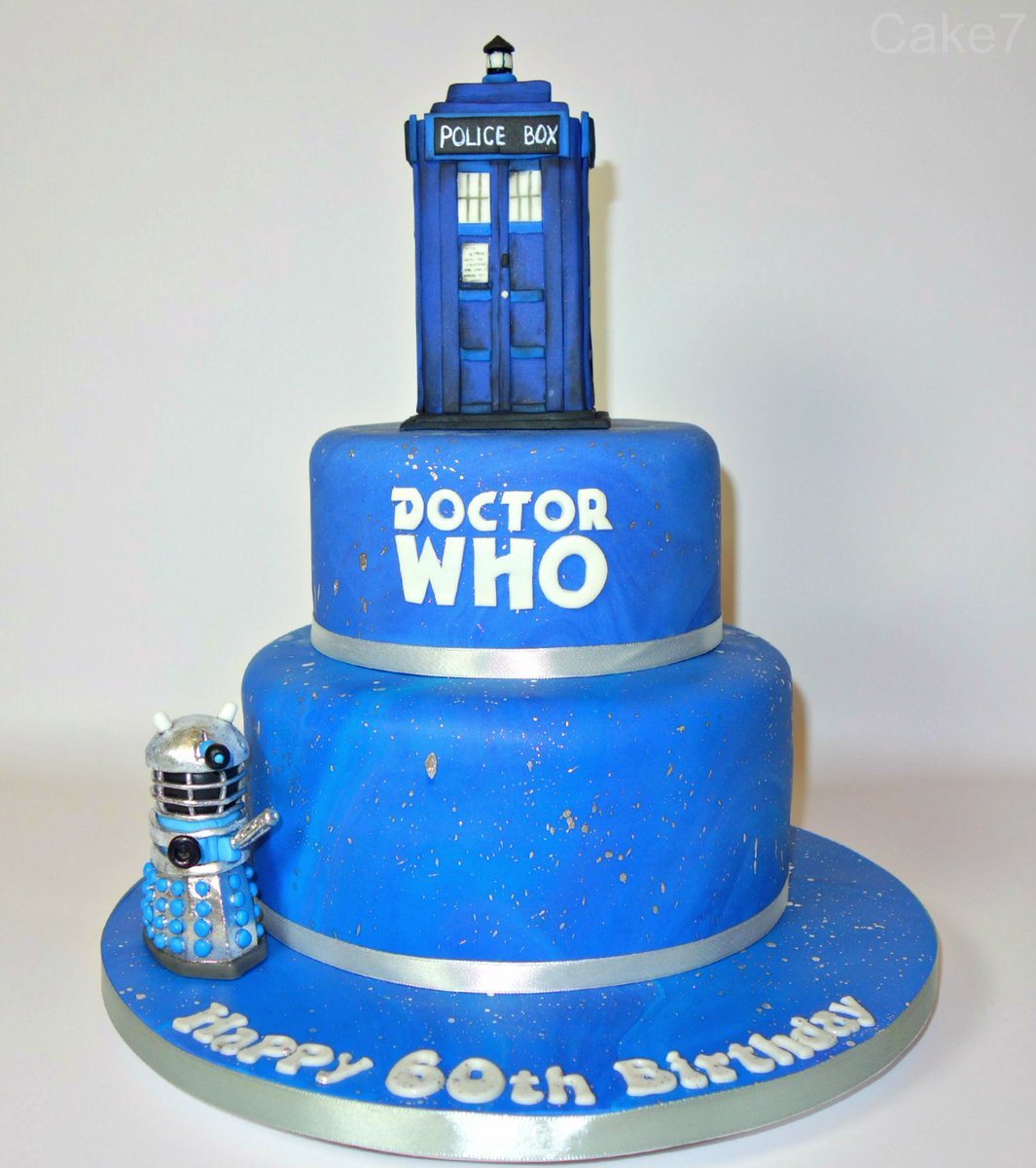 Astonishing Cake7 On Twitter Heres My Doctor Who Themed Two Tier Birthday Funny Birthday Cards Online Inifofree Goldxyz
