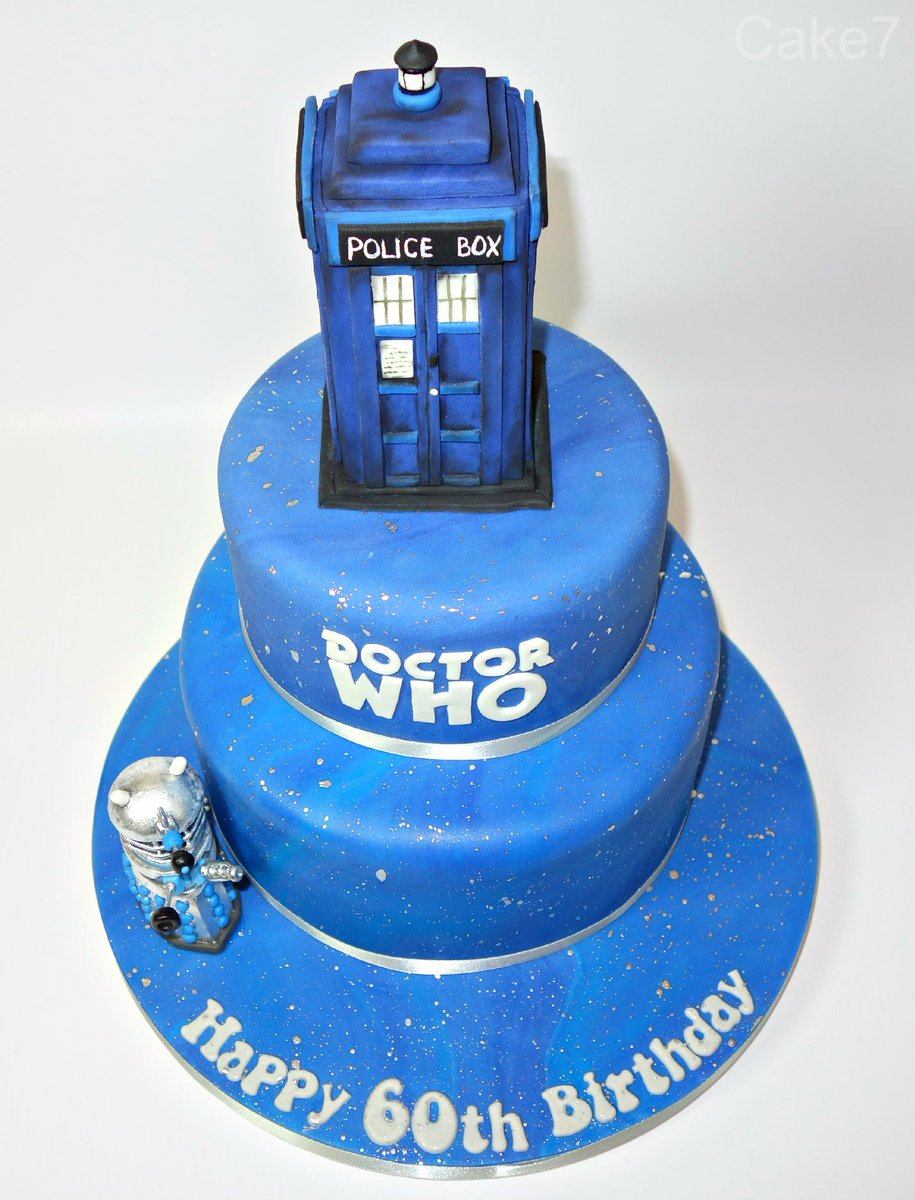 Marvelous Cake7 On Twitter Heres My Doctor Who Themed Two Tier Birthday Funny Birthday Cards Online Inifofree Goldxyz