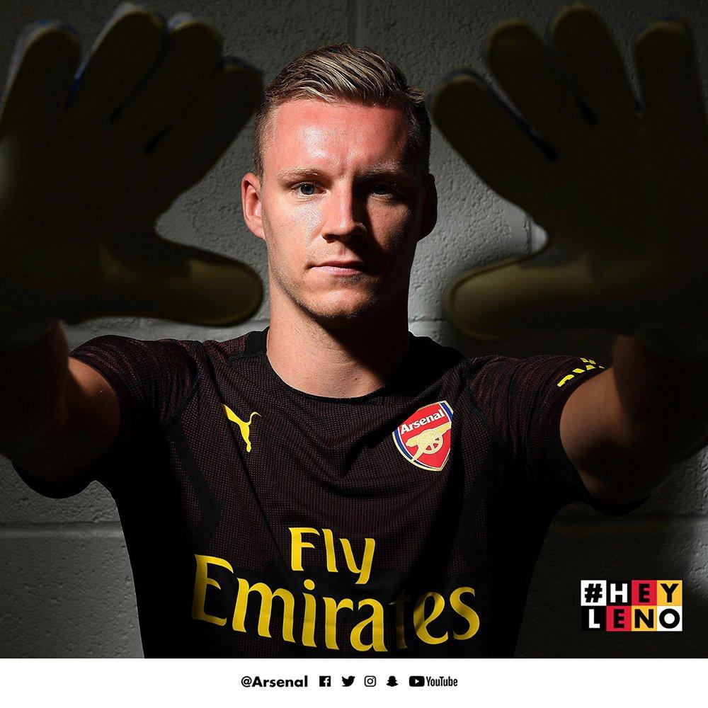 👋 #HeyLeno - @Bernd_Leno makes his Arsenal debut tonight 🙌  All the best Bernd 🔴