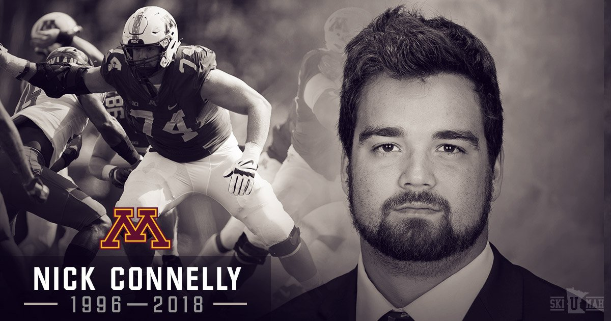 Minnesota Football's photo on Nick Connelly