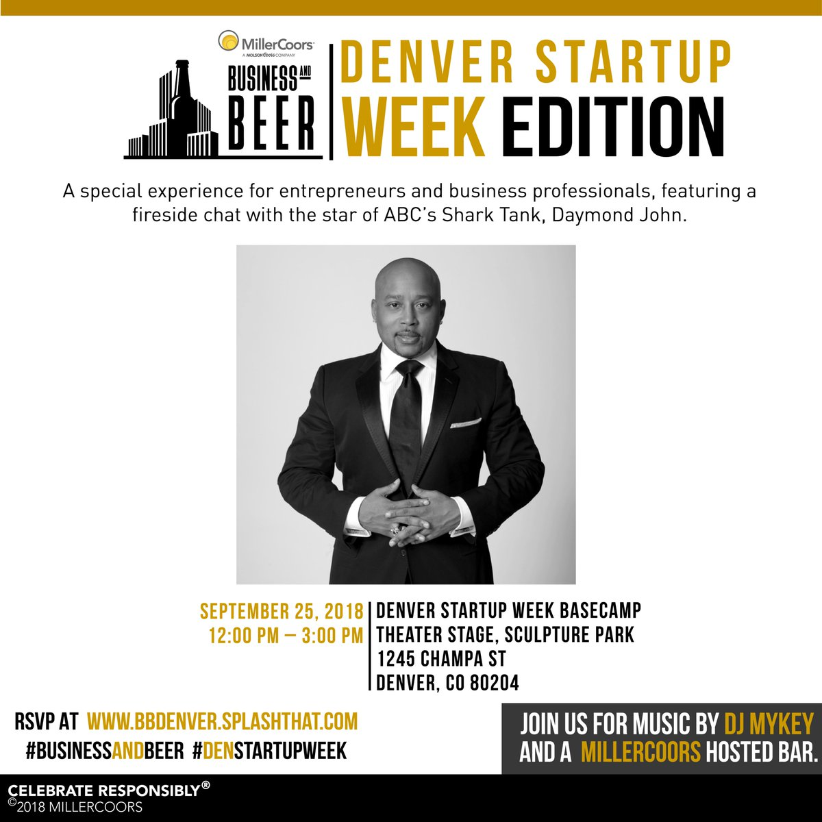 Denver startup week on twitter do you want to meet do you want to meet thesharkdaymond we are giving away 5 meet and greets after his denstartupweek session click here for the rules m4hsunfo
