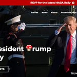 Image for the Tweet beginning: Join President Trump at a
