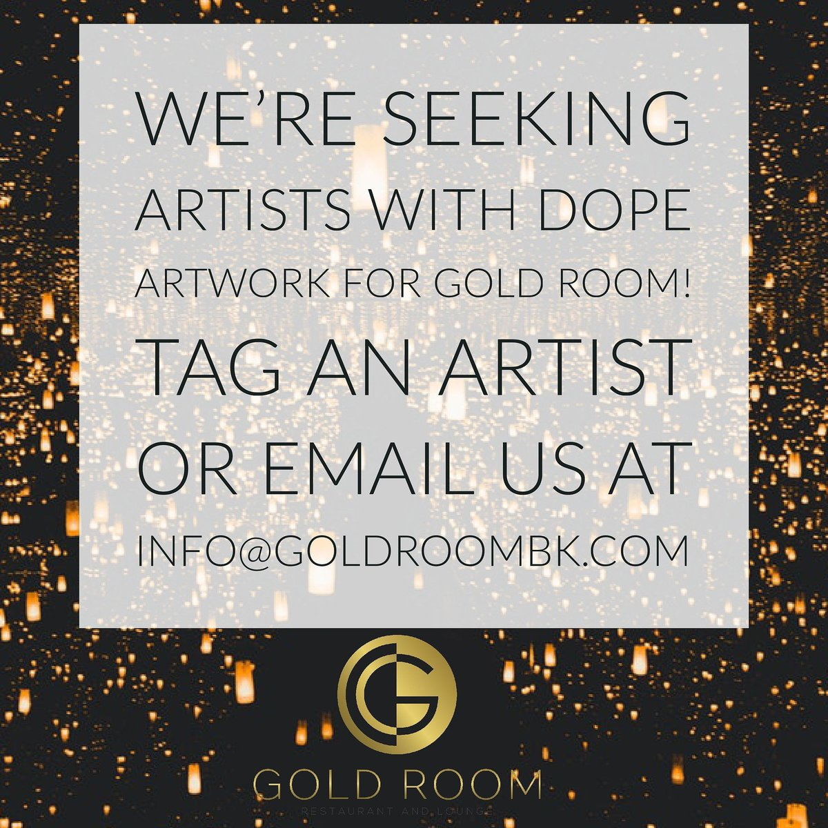 Gold Room Bk On Twitter Tag An Artist Or Email Us At Info