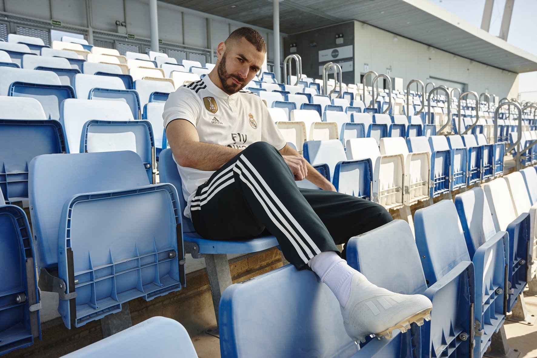 Nueve. ⚪ @Benzema | #X18 | #HereToCreate https://t.co/PX84kHCYea