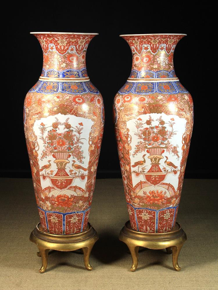 Wilkinsons Auction On Twitter Lot 105 A Pair Of Splendid Imari