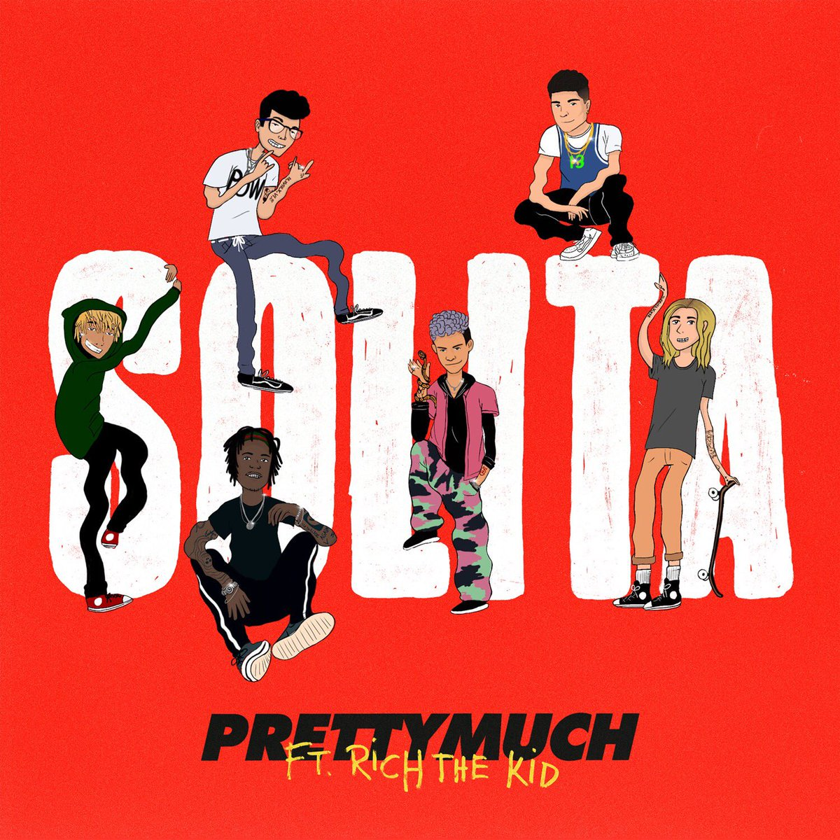 Yayyyy 🎉 New music from @PRETTYMUCH & @richthekid is coming soon!!!! #Solita
