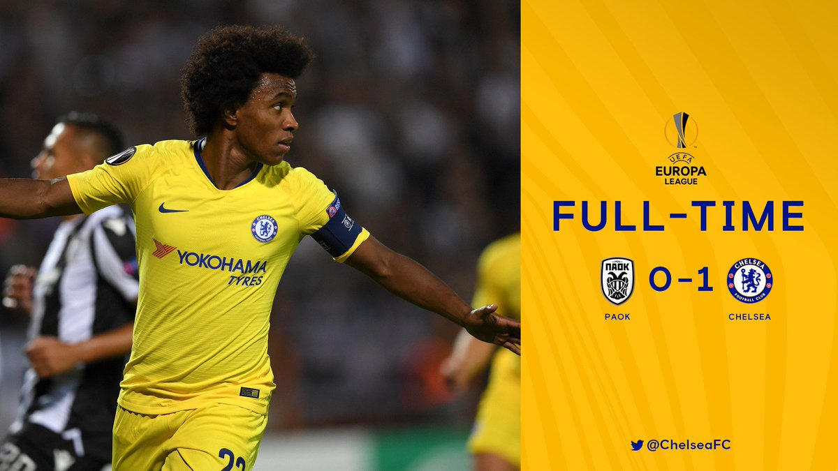 That's the way to start the group! 💪  An important three points in Greece! #PAOKvCFC