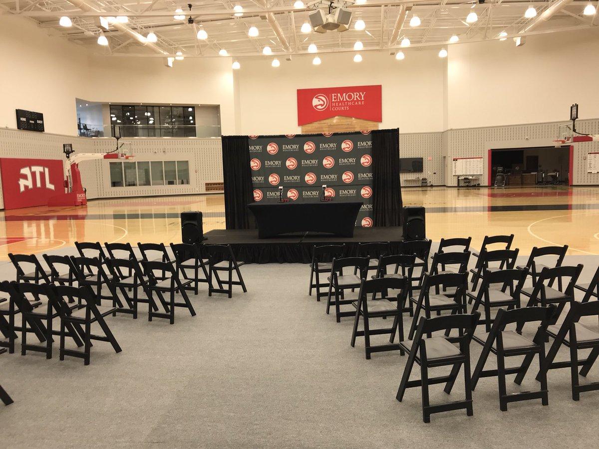 Catch Coach Pierce & GM Travis Schlenk TODAY at 3pm.  Watch here: https://t.co/gC3NLcvDBB