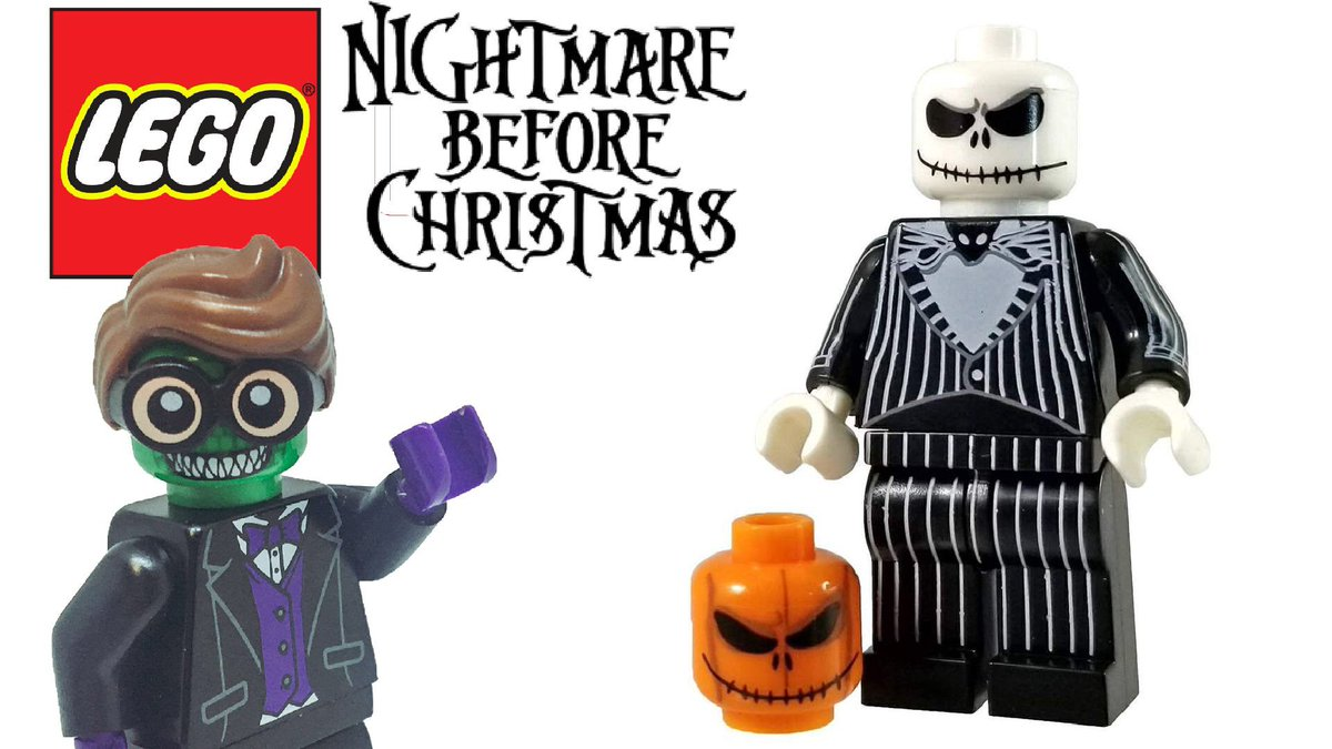 bricklite studios on twitter check out this sweet custom nightmare before christmas minifigrue in todays new video httpstcomz5n8ujysh