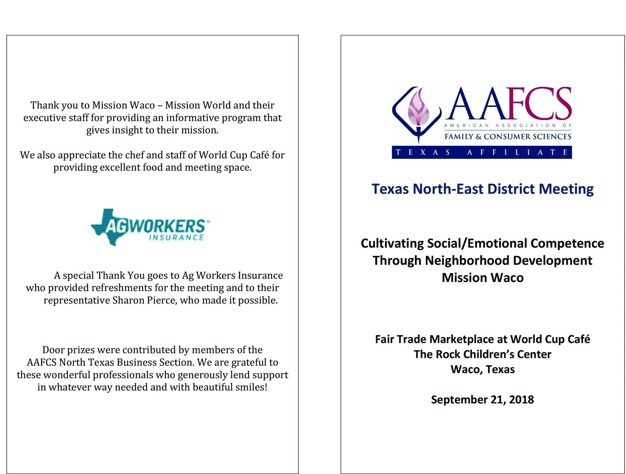 Ag Workers Mutual On Twitter Excited To See Everyone Tomorrow At The Aafcstx Texas North East District Meeting