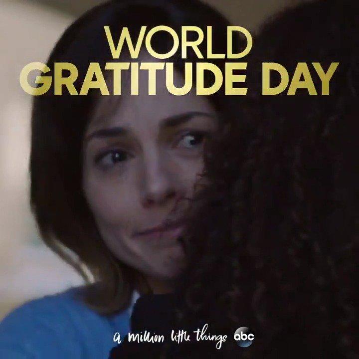 We cant imagine the world without friendship. Who are you grateful for on #WorldGratitudeDay? #AMillionLittleThings