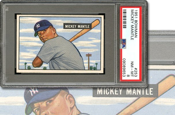 Scp Auctions On Twitter Mickeys Rookie Card Another