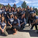 Week of Welcome team ready for our new EOU students!  #WeAreOne #GoEOU