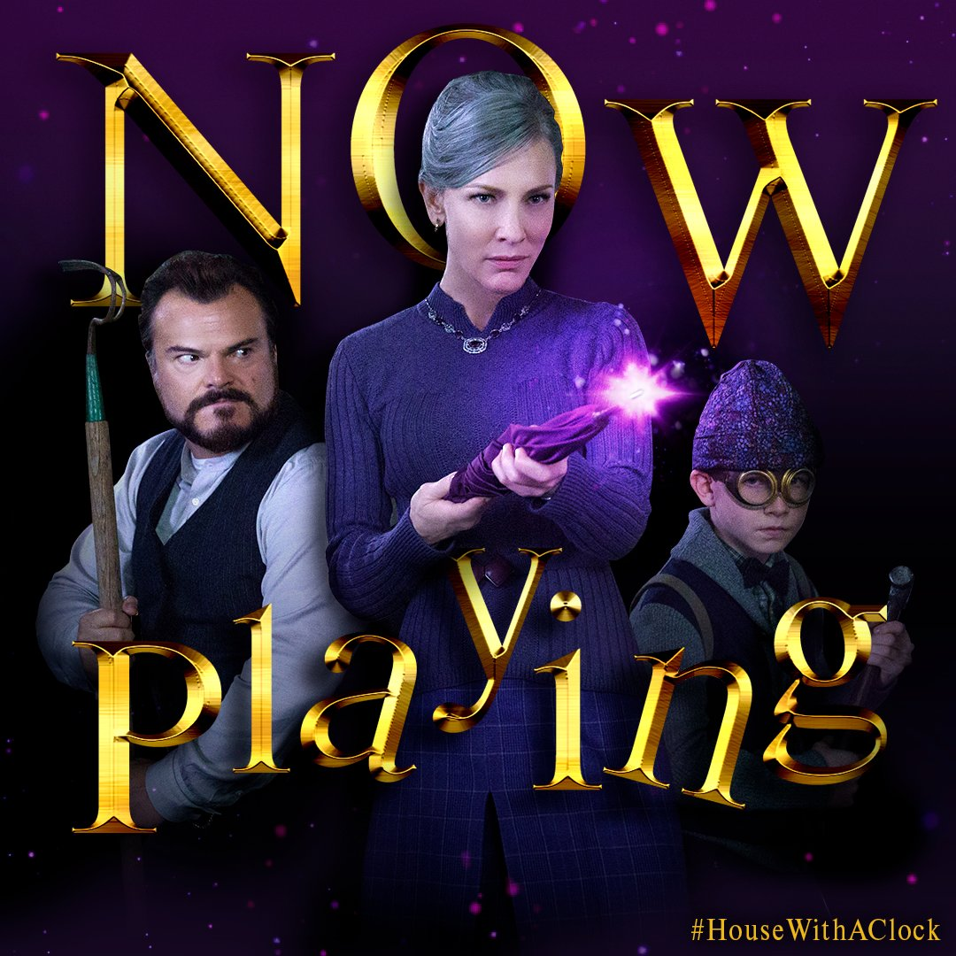 336ebeec67 @JackBlack and Cate Blanchett star in The House With a Clock In Its Walls,  now playing in theaters and @IMAX. Get tickets:  http://www.housewithaclocktix.com ...