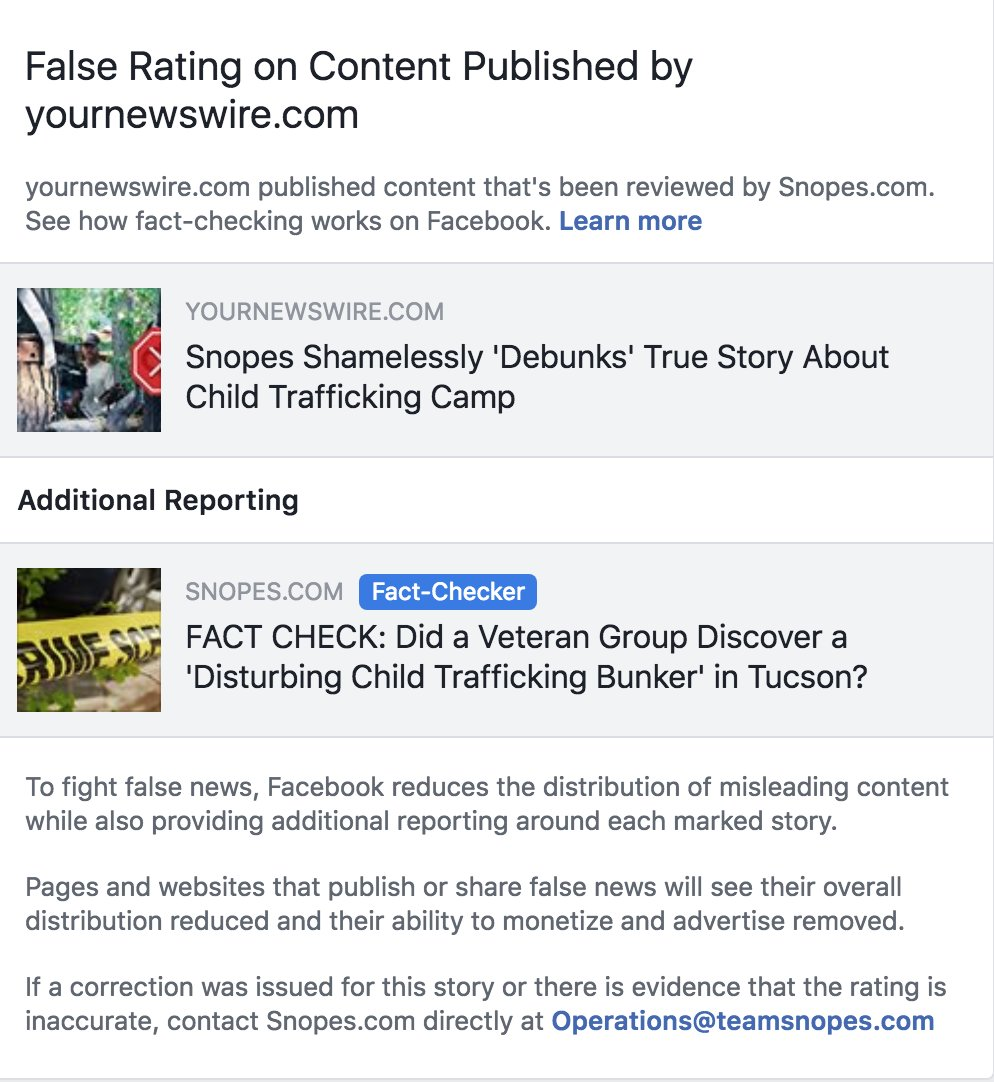 Yournewswire snopes