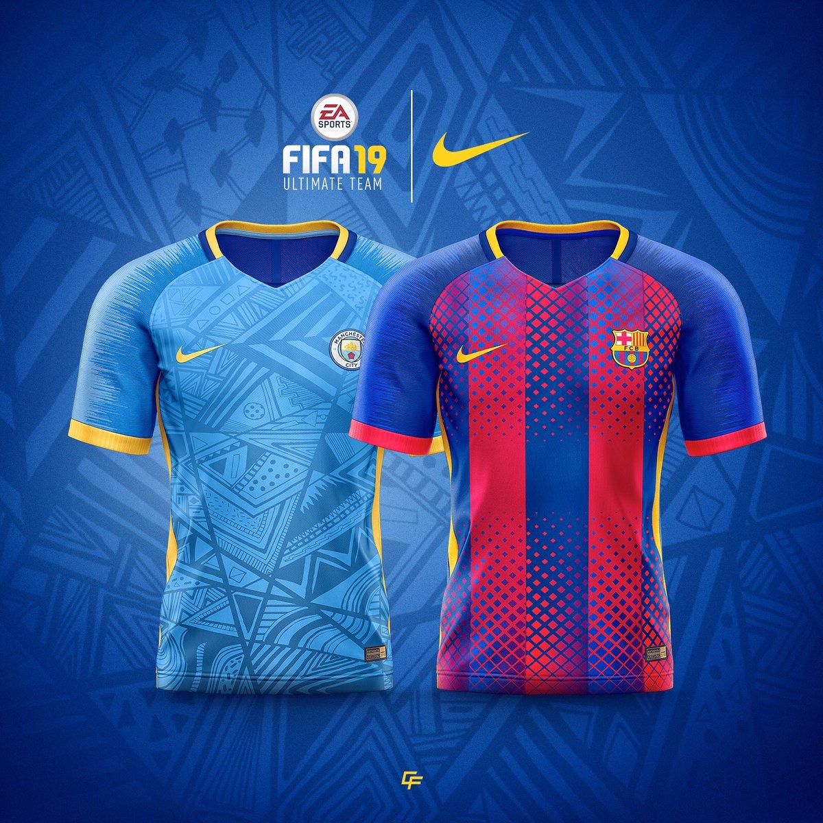 Sahil On Twitter Nike X Fifa 19 Custom Club Kits Just For The