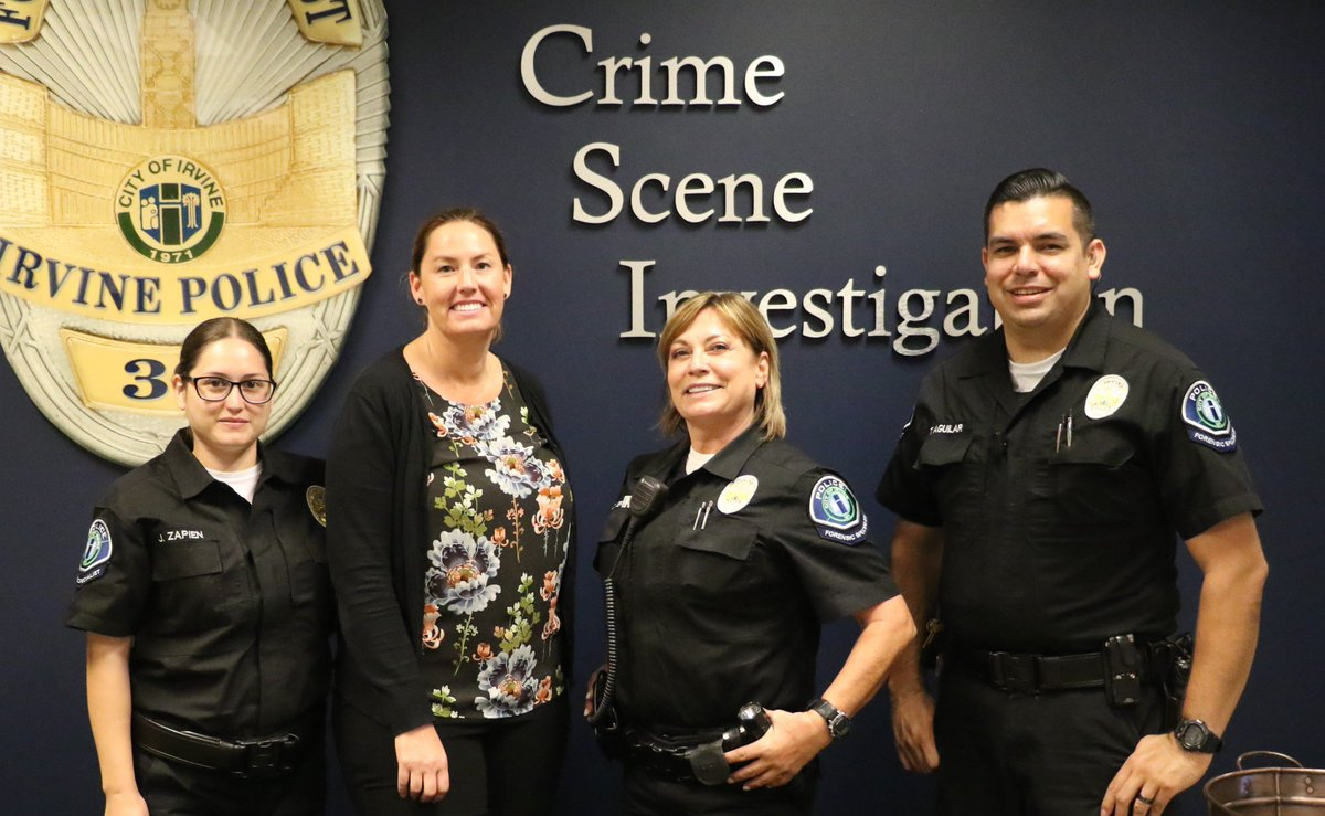 Irvine Police Department On Twitter Ipd Thanks Our Csi Unit For Its Dedicated Service And Acknowledges The Key Role Forensic Scientists Play In Solving Crime Forensicscienceweek Https T Co Kuapjnzcsu