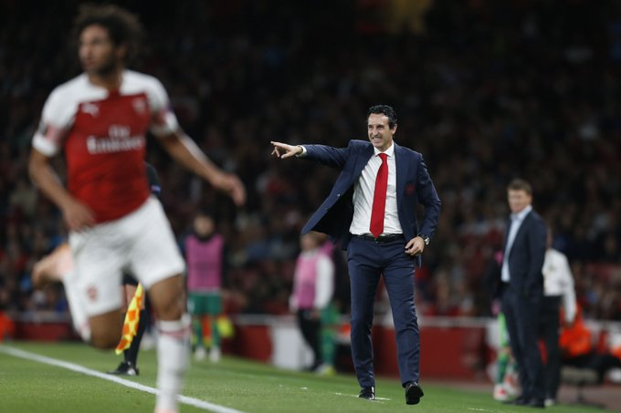 32 - Unai Emery recorded his 32nd victory in the Europa League this evening; the most of any manager in competition history. Command. Photo