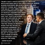 Image for the Tweet beginning: Is Donald Trump a white