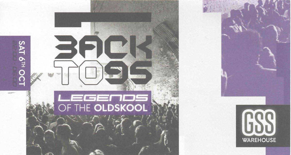 6 October @BackTo95 returns with an epic line up @DJSpoony @OriginalMikeeB @fabioandgroove @nickyblkmkt @djjjfrost @MattJamLamont @FirinSquad @NorrisWindross @djjjfrost @UncleDugs @CharlottDevaney @RampageSound @lloydlife @keleleroc @ListenerDJ +more!! NOT TO BE MISSED!!😎😍🔥💃