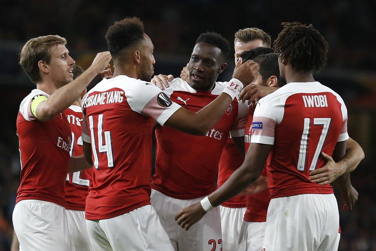 ĐHTB lượt 1 Europa League: Vinh danh 2 sao Arsenal