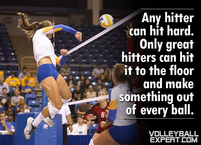 Volleyball Expert On Twitter Any Hitter Can Hit Hard Only Great
