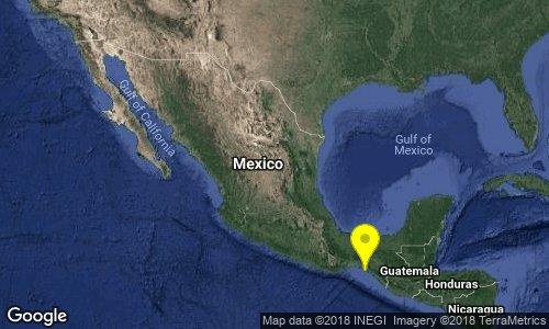 test Twitter Media - Preliminar: SISMO Magnitud 4.2 Loc  33 km al SUROESTE de TONALA, CHIS 20/09/18 17:30:22 Lat 15.85 Lon -93.95 Pf 10 km https://t.co/7rIlrWcsEb