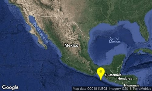 test Twitter Media - SISMO Magnitud 4.3 Loc  168 km al SUROESTE de MAPASTEPEC, CHIS 20/09/18 17:30:09 Lat 14.34 Lon -93.97 Pf 15 km https://t.co/KVab2GGAIl